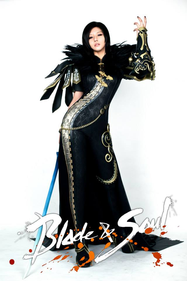 Tasha cực gợi cảm với cosplay Blade & Soul 10