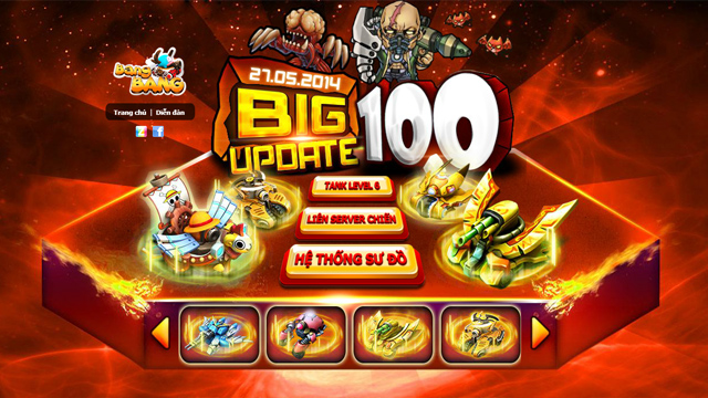 BangBang đón siêu tăng cấp 6 với bản cập nhật 10.0 2