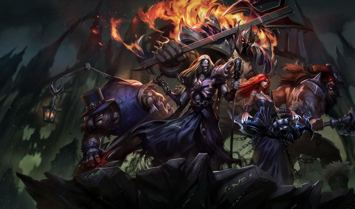 LMHT: Riot Games cập nhật splash art Pentakill 2