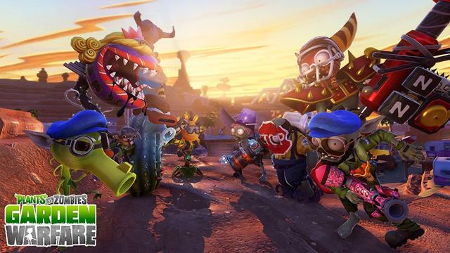 Plants vs Zombies: Garden Warfare sắp có mặt trên PS4