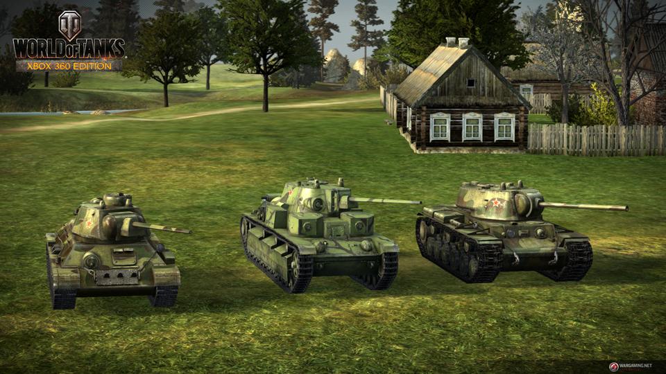 WOT: Xbox 360 Edition cập nhật 29 xe tăng mới 2