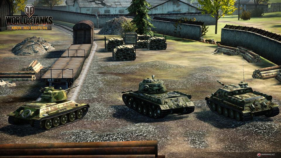 WOT: Xbox 360 Edition cập nhật 29 xe tăng mới 5