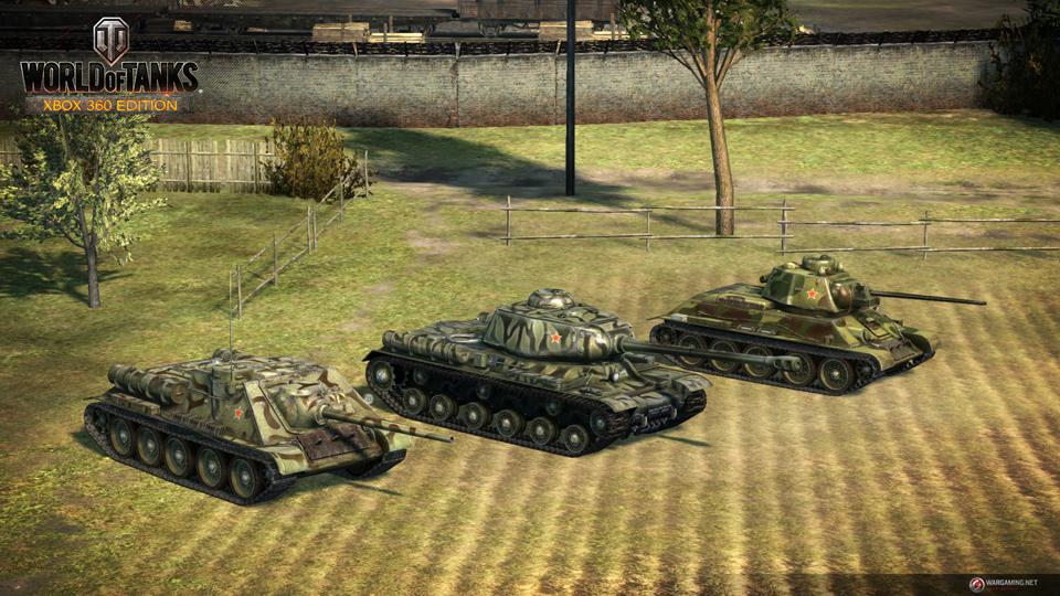 WOT: Xbox 360 Edition cập nhật 29 xe tăng mới 8