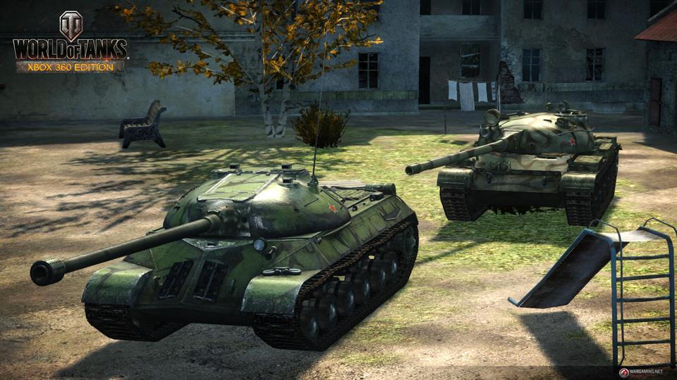 WOT: Xbox 360 Edition cập nhật 29 xe tăng mới 12
