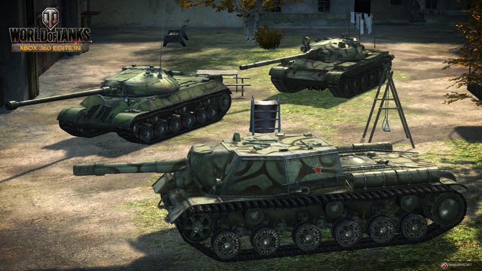 WOT: Xbox 360 Edition cập nhật 29 xe tăng mới 14