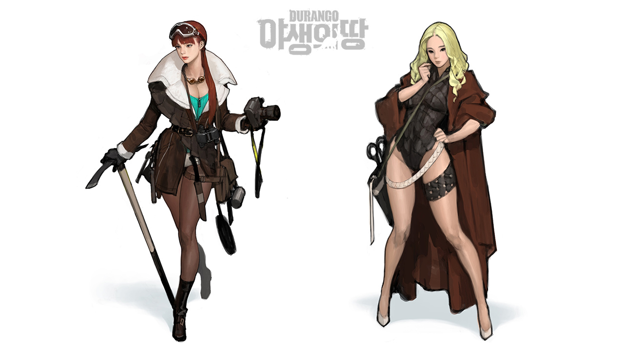 Nexon hé lộ game mới về khủng long mang tên Durango 7