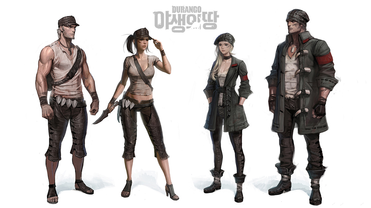 Nexon hé lộ game mới về khủng long mang tên Durango 8