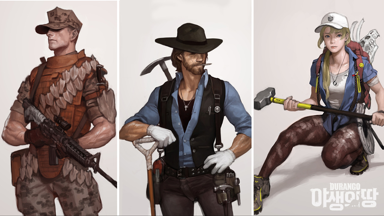 Nexon hé lộ game mới về khủng long mang tên Durango 10
