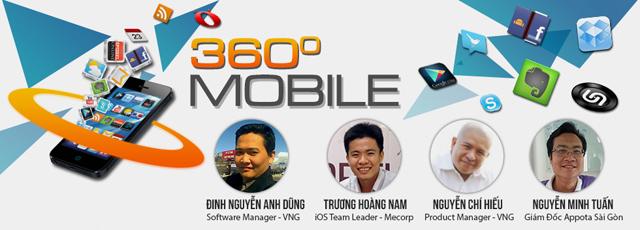 """VTC Academy tổ chức hội thảo """"360 độ mobile"""" 2"""