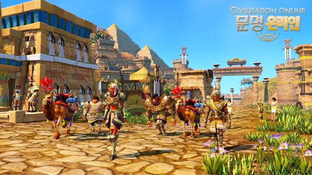 Đánh giá phiên bản CBT 1 của Civilization Online 1