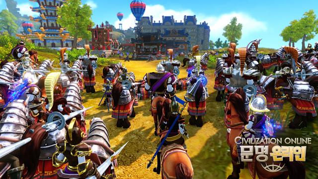 Đánh giá phiên bản CBT 1 của Civilization Online 5