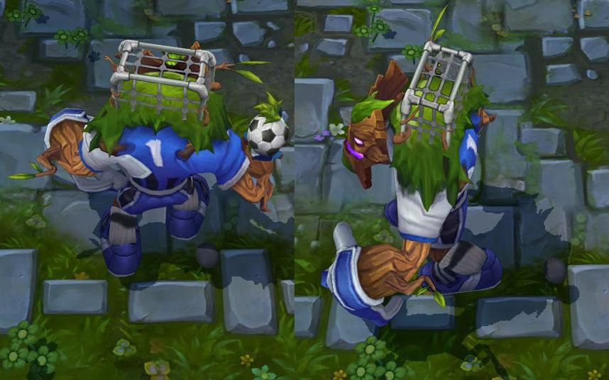 LMHT: Cận cảnh các trang phục World Cup 8
