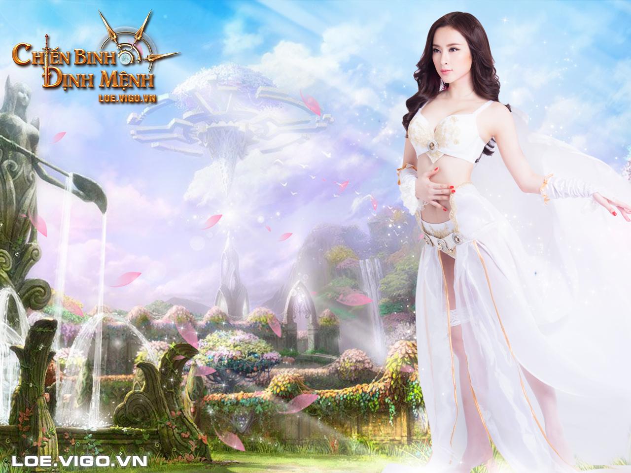 Ngắm thiên thần đáng yêu của Chiến Binh Định Mệnh 1