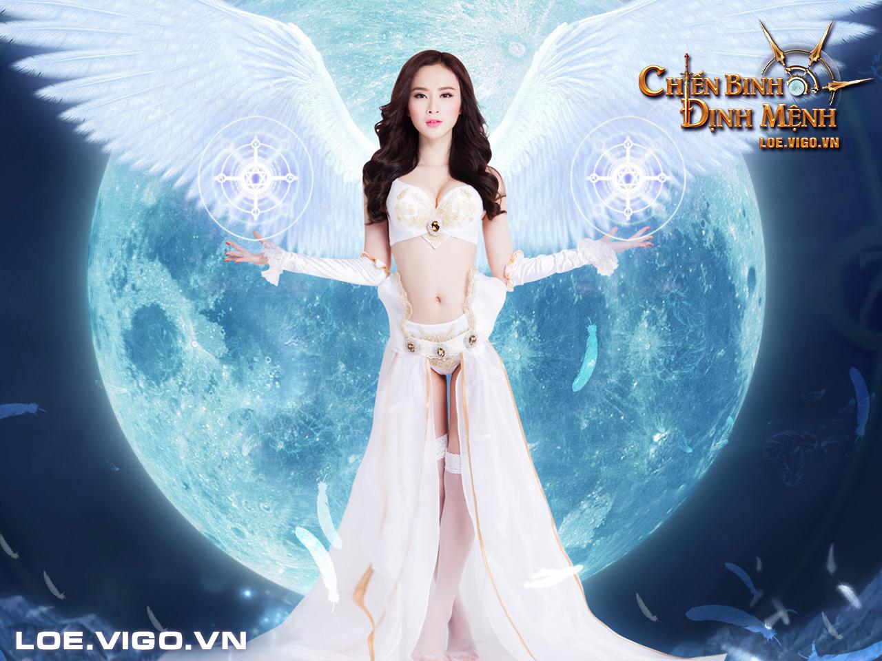 Ngắm thiên thần đáng yêu của Chiến Binh Định Mệnh 2