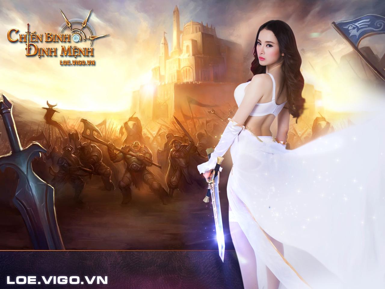 Ngắm thiên thần đáng yêu của Chiến Binh Định Mệnh 4