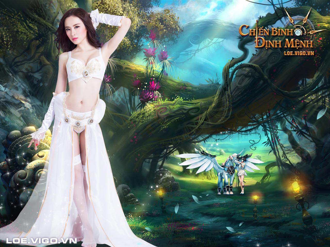 Ngắm thiên thần đáng yêu của Chiến Binh Định Mệnh 8