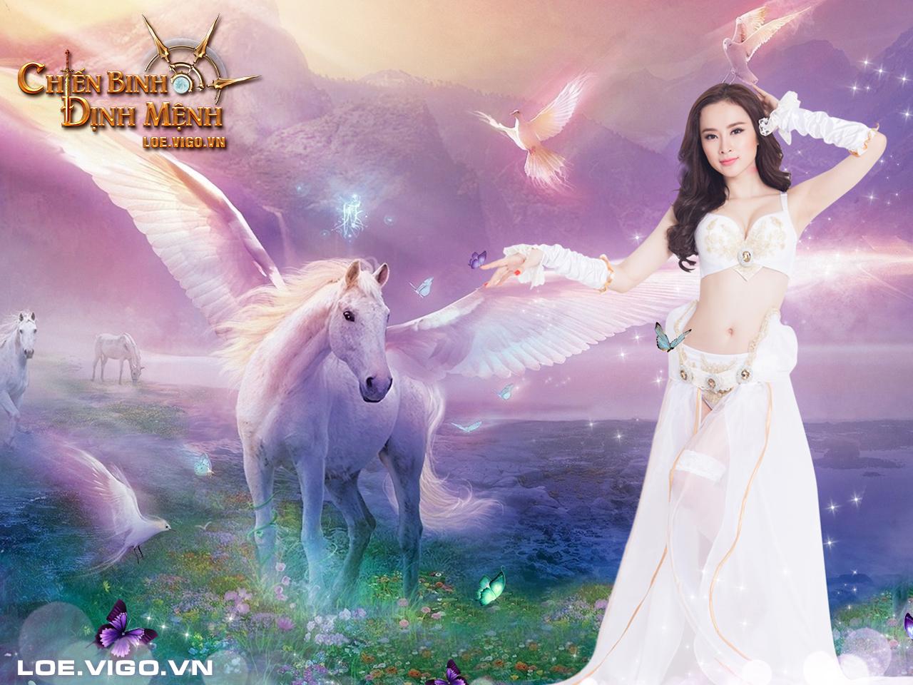 Ngắm thiên thần đáng yêu của Chiến Binh Định Mệnh 9