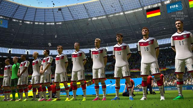EA dự đoán Đức sẽ vô địch World Cup 2014 2