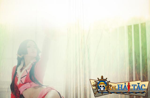 Ngắm Bunny Kute trong cosplay Boa Hancock 1
