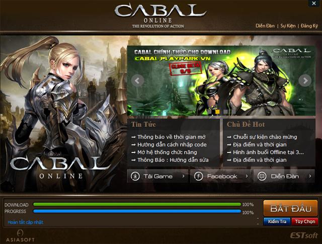Cabal Online bước vào giai đoạn Closed Beta 1