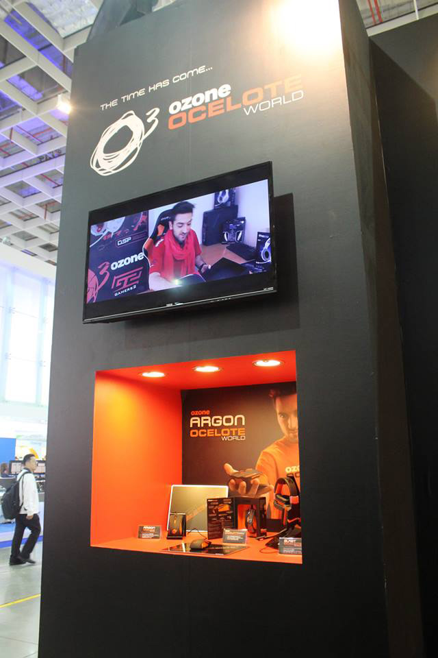 Ozone Gaming ra mắt dòng sản phẩm Ocelote World 1