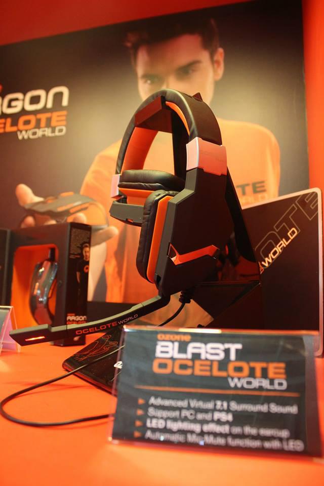 Ozone Gaming ra mắt dòng sản phẩm Ocelote World 4