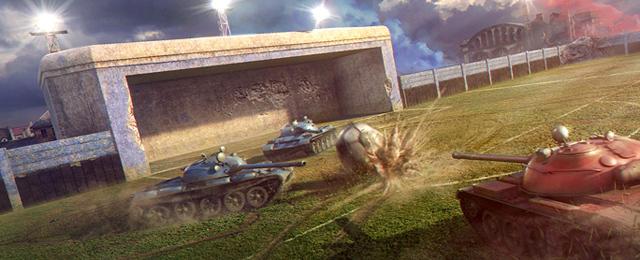World of Tanks sắp có chế độ Đá bóng 1
