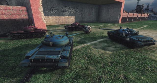 World of Tanks sắp có chế độ Đá bóng 2