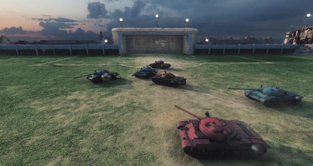 World of Tanks sắp có chế độ Đá bóng 4