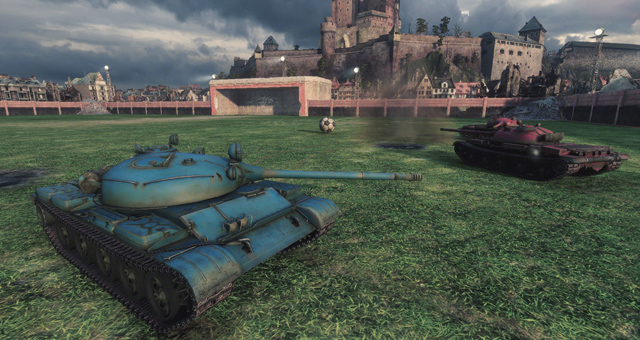 World of Tanks sắp có chế độ Đá bóng 5