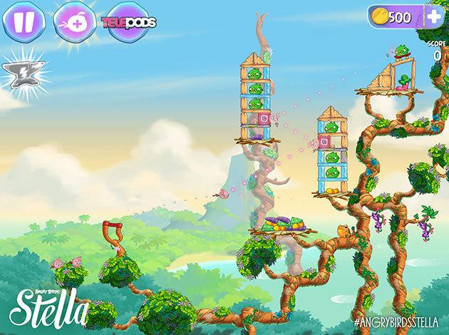 Angry Birds Stella sẽ lên kệ vào tháng Chín tới 1