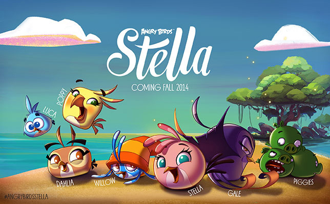 Angry Birds Stella sẽ lên kệ vào tháng Chín tới 2
