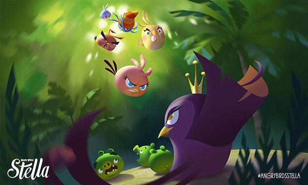 Angry Birds Stella sẽ lên kệ vào tháng Chín tới 3