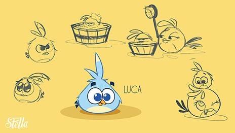 Angry Birds Stella sẽ lên kệ vào tháng Chín tới 13