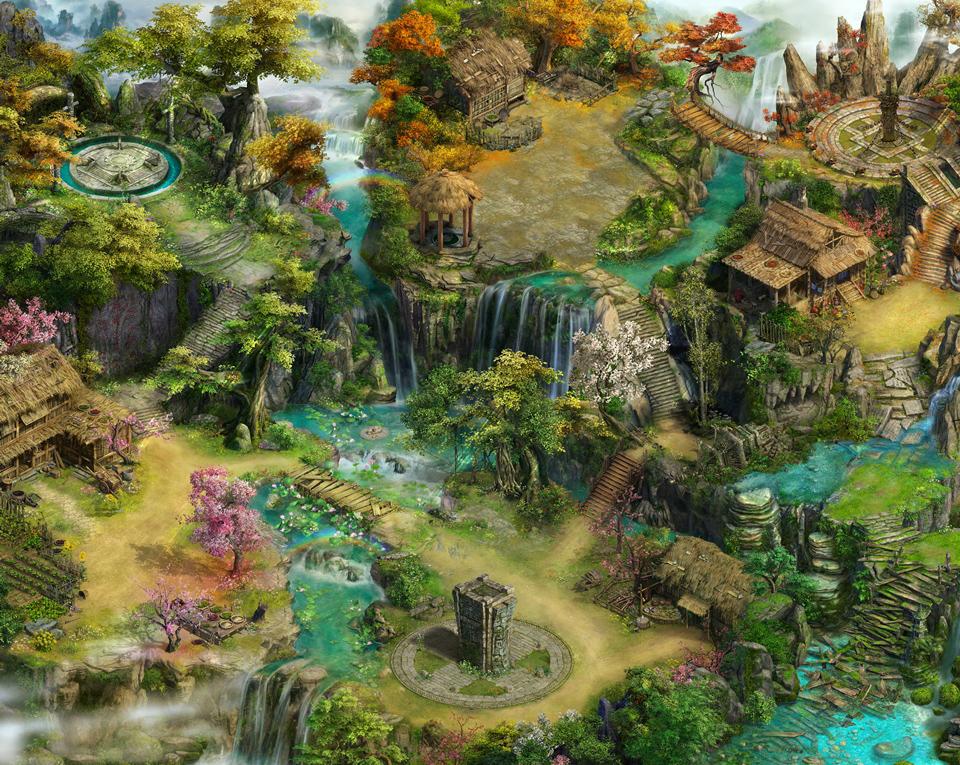 CMN Online trình làng game mới Giang Hồ Vấn Kiếm 7