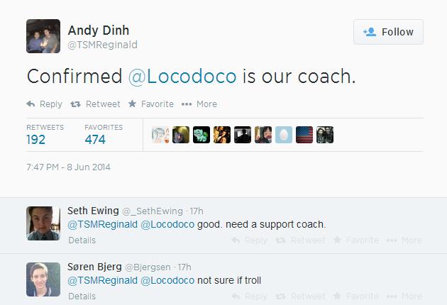 Team SoloMid đón nhận huấn luyện viên ngoại 2