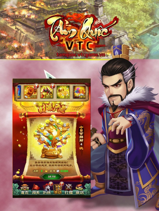 VTC Game hé lộ game mới Tam Quốc VTC 3