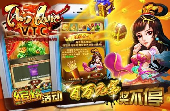 VTC Game hé lộ game mới Tam Quốc VTC 5