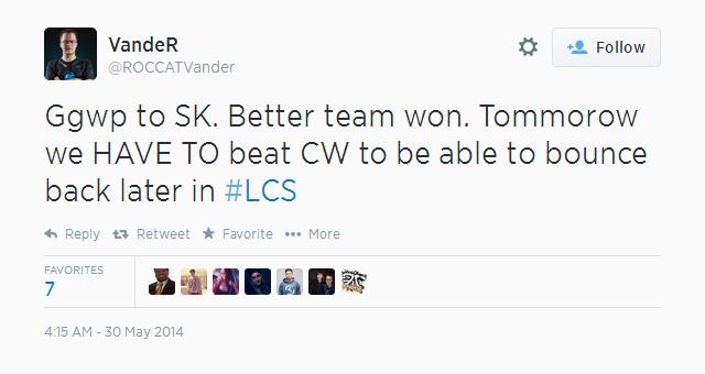 Phân tích thất bại của ROCCAT tại LCS Mùa Hè 2014 2