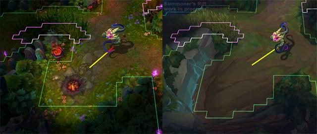 LMHT: Nâng cấp lối chơi tại bản đồ Summoner's Rift 2