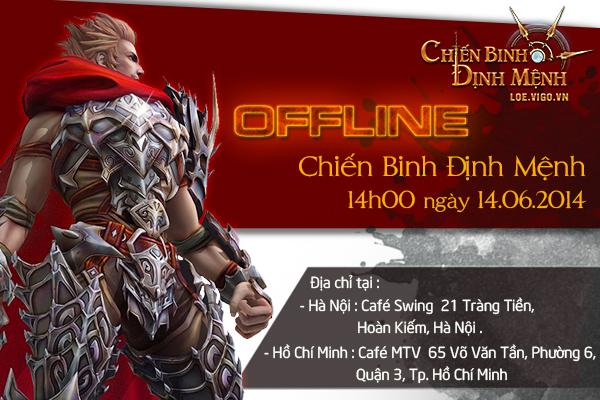 VIGO tổ chức offline Chiến Binh Định Mệnh vào 14/06 1