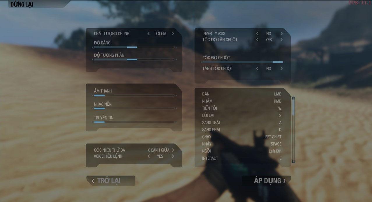 Ngắm giao diện Việt hóa của War Inc. Battle Zone - Ảnh 2