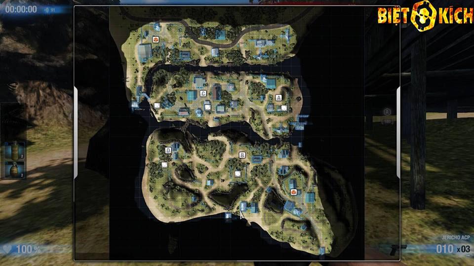 Ngắm giao diện Việt hóa của War Inc. Battle Zone