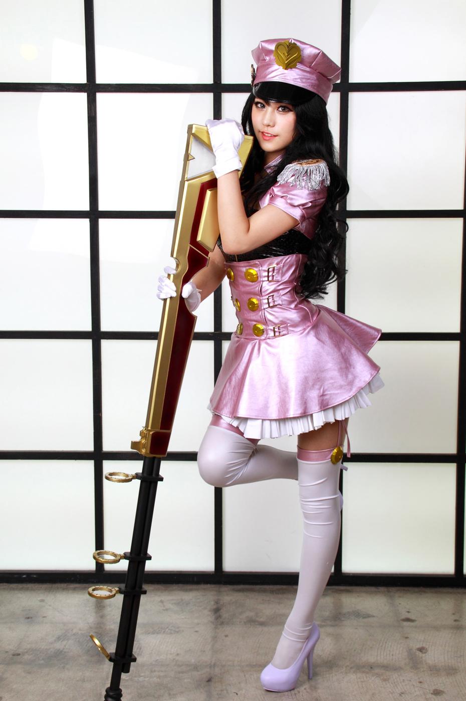 Ngắm cosplay Caitlyn Thần Tượng Âm Nhạc cực xinh - Ảnh 2