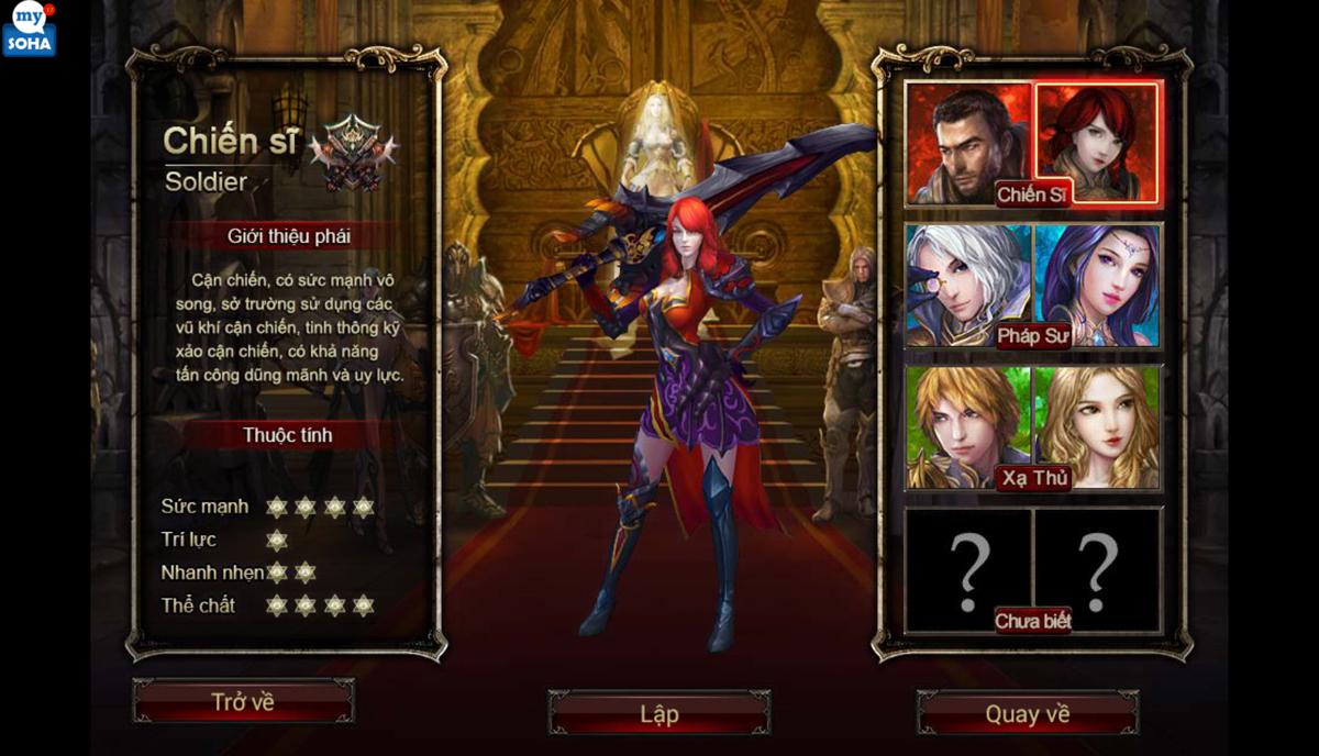 Soha Game hé lộ về game mới Phong Ma - Ảnh 1