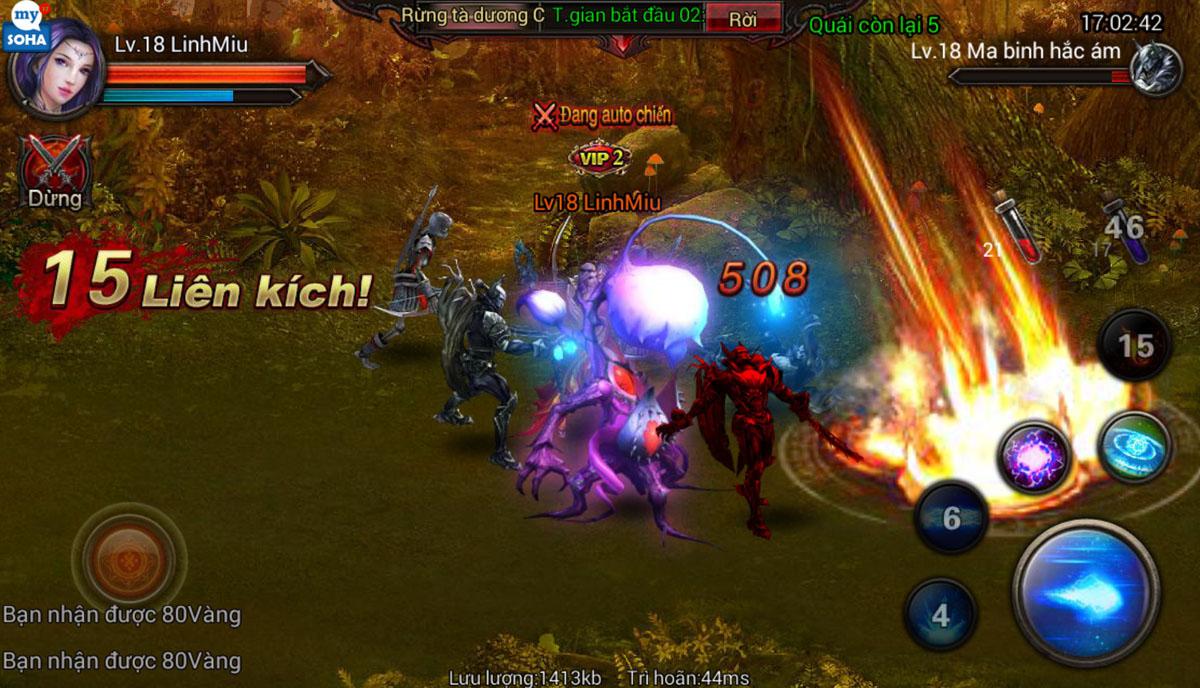 Soha Game hé lộ về game mới Phong Ma - Ảnh 4