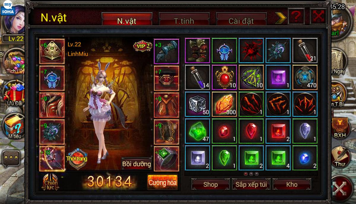 Soha Game hé lộ về game mới Phong Ma - Ảnh 9