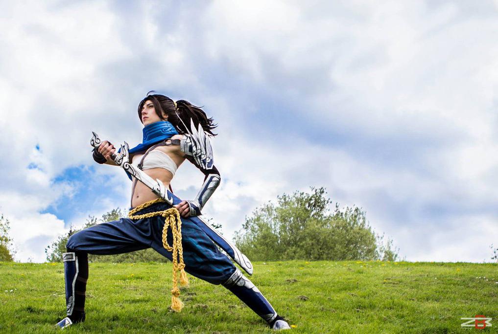 Ngắm cosplay Yasuo phiên bản nữ cực quyến rũ - Ảnh 3
