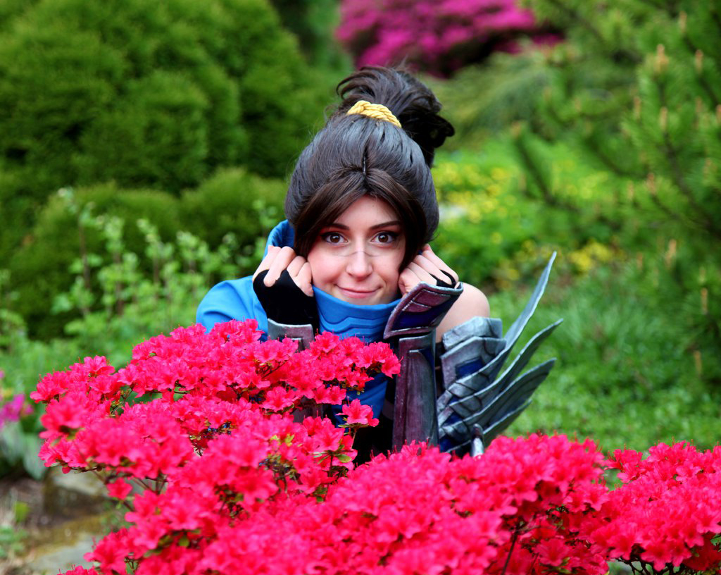 Ngắm cosplay Yasuo phiên bản nữ cực quyến rũ - Ảnh 9