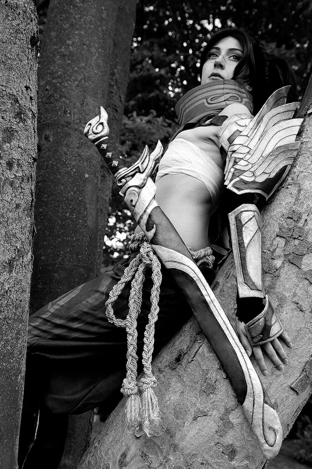 Ngắm cosplay Yasuo phiên bản nữ cực quyến rũ - Ảnh 14
